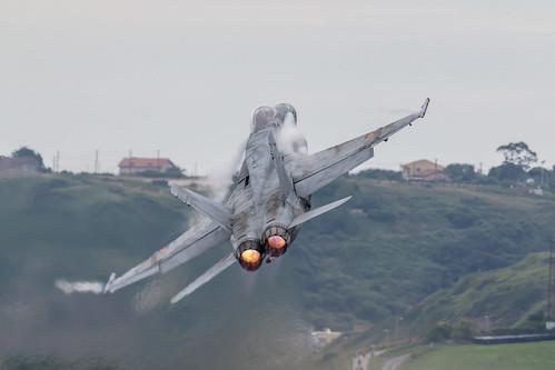 F18. Festival Aéreo Internacional de Gijón. 2018.