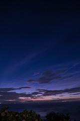 P7214724 (kunmorita) Tags: star 星 海 空 夜空 夜間撮影 sea sky night 夕焼け マジックアワー magic hour 黄昏