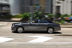 Bentley, Mulsanne, Central, Hong Kong (Daryl Chapman Photography) Tags: kk163 bentley hongkong china sar central canon 1d mkiv 35mm f14 art pan panning auto autos automobile automobiles car cars carspotting carphotography mulsanne