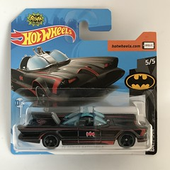 Mattel Hot Wheels - Number 163 / 365 - Batman 2018 Number 5 / 5 -  Batmobile - Original Television Series - Miniature Diecast Metal Scale Model Vehicle (firehouse.ie) Tags: iconic classic batmanclassictvseries vehicule vehicle automobiles autos coches cars burtward adamwest tvcharacter dccomics dc diecast miniatures miniature models model metal mattel toys toy charactertoy tvrelated tvseries tv movie automobile l'auto coche car batcar batmobile batman