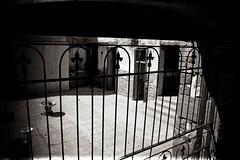 (Talisman39) Tags: thewest az arizona bw gate ghosttown grain holga jerome monochrome vignette