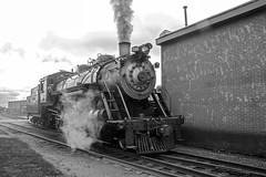 Strasburg Railroad 22 July 2018 (53)bw (smata2) Tags: railroad steamlocomotive livesteam train strasburgrailroad strasburg