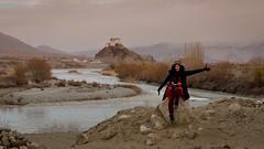 Wonder girl in the wonder land, Ladakh (Sunyawit Sethapokin) Tags: landscape ladakh
