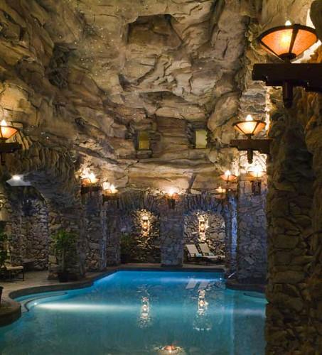grotto spa at the Omni Grove Park Inn