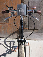 Head-On-V_8333 (Hoopdriver) Tags: hoopdriverbicycles custombuild pashley guvnor guidonnetlevers sturmeyarcher veloorange surly surlyflask brookschallengebag brooksb17 doubletoptube
