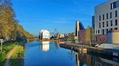 14 - strasbourg avril 2018 - Bassin d'Austerlitz (paspog) Tags: strasbourg france alsace canal port hafen haven bassindausterlitz 2018 april avril