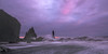 Legends of Odin (Maddog Murph) Tags: vik sea stack reynisdrangar south island iceland travel waves sunset seascape fine art fierrce force fierce odin fury surf mist pink blue long expo exposure basalt black sand beach ocean pacific europe