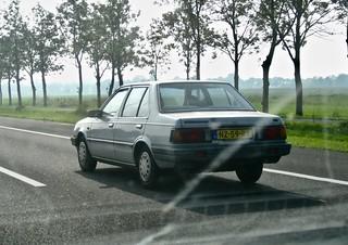 1985 NISSAN Sunny B11 1.3 Sedan While Driving