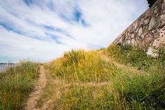 St Ibb's Church (Maria Eklind) Tags: view ven nature himmel outdoor clouds moln blue ö kyrkbacken sanktibbskyrka countryside island sky sanktibb hven kyrkachurch stibbschurch vy skånelän sverige se