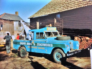 Land Rover Series 2A recovery - KAR 48G