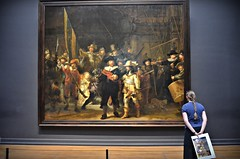 The Night Watch (Aránzazu Vel) Tags: rembrandt rijksmuseum amsterdam museum art arte thenightwatch larondadenoche museo
