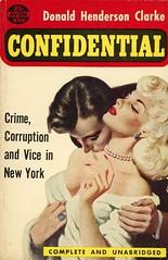 Avon Books 650 - Donald Henderson Clarke - Confidential (swallace99) Tags: avonbooks vintage 50s timessquare paperback