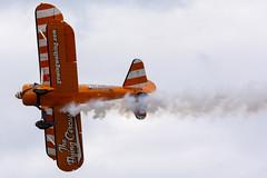 DSC_9522 copy (quintinsmith_ip) Tags: aerosuperbatics flyingcircus 'superstearmans stearmans plane formation flight smoke smoking orange white wingwalkers sunderland 2018
