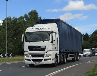 H O Jones EO63 AZP passing Gledrid services
