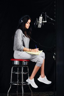 Madison Beer Recording