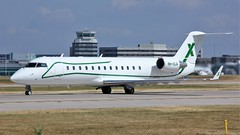 9H-CLG (AnDyMHoLdEn) Tags: bombardier challenger egcc airport manchester manchesterairport 23l