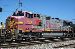 BNSF624GB_MadisonIL_270718 (Catcliffe Demon) Tags: bnsf railways usa railroading dash944cw c449w generalelectric ge burlingtonnorthernsantafe atsf atchisontopekasantafe illinois usatrip11jul2018