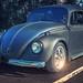 Black Tar VW Bug (Cars & Coffee of the Upstate)