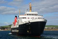 MV Isle of Arran . Ardrossan - 12-08-17 (MarkP51) Tags: mvisleofarran ardrossan harbour ayrshire scotland caledonianmacbrayne roro vehicle ferry ship boat vessel maritimephotography sunshine sunny nikon d7100