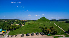 Mound of Glory (free3yourmind) Tags: moundofglory memorial minsk belarus monument war wwii history tanks clouds blue sky xiaomi mi drone quadcopter mound glory курганславы