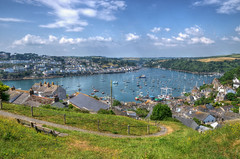 The harbour at Fowey, Cornwall (Baz Richardson (now away until 26 Oct)) Tags: cornwall polruan fowey cornishharbours yachts smallboats smalltowns