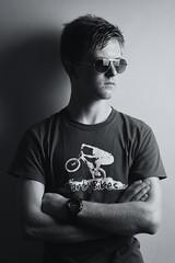 Nathan (MX Man) Tags: son boy male glasses shades strobist strobe one pony pose portrait good d 600 b m tarty bikes t shirt