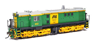 AN green 842 by Auscision Models
