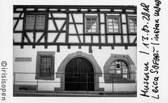 Museum # 2018006 # Leica SOFORT Fuji instax mini MONOCHROME - 2018 (íṛíṡíṡôṗĕñ ◎◉◎) Tags: leica sofort film instant analog schwarzweiss bw instax monochrome irisisopen