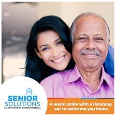 A Warm Smile and Listening Ear (unmukt.festival) Tags: unmuktfestival homecare seniorcitizen soluctionforsenior