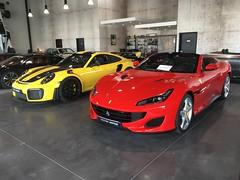 Ferrari Portofino - Porsche 911 GT2 RS . ✨ (J.C. Photographe) Tags: 2018 france dijon 700bhp gt2rs 911 porsche 600bhp v8 portofino ferrari