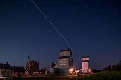 ISS + Grain Elevators, St Albert, Alta [Explored] (WherezJeff) Tags: iss internationalspacestation stalbert grainelevator satellite alberta canada nisi 1929 1906