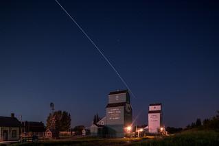 ISS + Grain Elevators, St Albert, Alta [Explored]