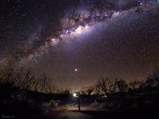 The starry sky of Karijini