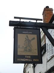 Pub Sign - The Windmill Inn, Church Street, Stratford 180509 (maljoe) Tags: pubsigns pubsign pub pubs inn inns tavern taverns publichouse publichouses