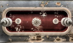 treble and bass (Blacklight Fotografie) Tags: ceiling decke lampen lampe decay abandoned rotten forgotten verlassen verfallen vergessen urbex hdr lost lostplace saal ballsaal ballroom lamp lamps leuchter kronleuchter chandelier blacklight fotografie