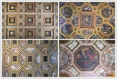 Palazzo Te, Mantova - Alcuni affreschi dei soffitti del palazzo. - Ceiling Frescos from Palazzo Te, Mantua -- 1 (Claude M.D.) Tags: fresco affresco art beauty amazing unbelievable sight mosaic mosaico composition combo multiple italie italian italien beaux beau hermoso encantador