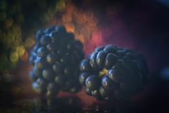Black is beautiful (ursulamller900) Tags: blackberry brombeeren black blackbeauty trioplan2950 extensiontube 12mm makroring bokeh smileonsaturday