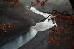 Soirée hivernale (RarOiseau) Tags: couchant contrejour hiver alpesdehauteprovence ladurance rivière thèze saariysqualitypictures paca 200fav v2000