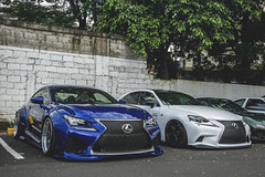 Rocket Bunny Lexus RC F and Lexus IS 350 F Sport (Justin Young Photography) Tags: cars manila philippines stancepilipinasmanilafitted lexus rcf usc10 rocketbunny is350 fsport xe30 gse30