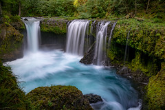 Oregon - Spirit Falls (Jeff Krause Photography) Tags: falls flowing forest national oregon pool spirit state washington water waterfall cook unitedstates us