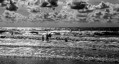 20180811_170516-2 (durr-architect) Tags: kids sea beach castricum zee sand water cloud sky light monochrome