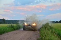 Splash! (Villikko) Tags: car auto sunset auringonlasku summer kesä countryside maaseutu
