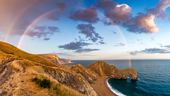 Durdle Door (Peter Quinn1) Tags: durdledoor rainbow dorset
