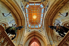 Windsor Castle (abtabt) Tags: unitedkingdom uk england royal castle architecture d700sigma1224 aurora blending ceiling building window