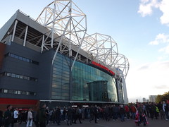 Outside Old Trafford (lcfcian1) Tags: manchester united old trafford leicester city lcfc mufc epl bpl premier league opener sport football england stadium manchesterunited leicestercity manchesterunitedvleicestercity oldtrafford