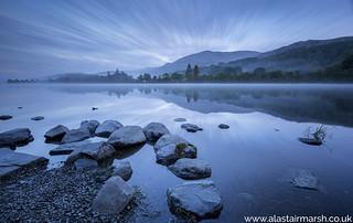 Coniston Water before Sunrise