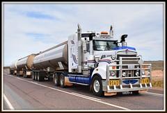 C & D Chapman - Kenworth T909 (Bourney123) Tags: mogas kenworth t909 triple roadtrain truck trucks trucking highway haulage loaded diesel interstate