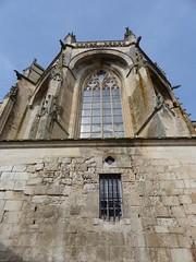 Fontenay-le-Comte, Vendée: église Notre-Dame, XV° (Marie-Hélène Cingal) Tags: france paysdelaloire vendée fontenaylecomte baznīca église kirik iglesia church chiesa bažnyčia kirche kostol eliza 85
