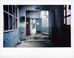 (MichaWha) Tags: roidweek polaroidweek instantcamera instantfilm fujiinstax instax instaxwide lomoinstantwide lomography urbex abandoned urbanexploration factory france