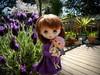 Two cuties (TutuBella) Tags: jerryberry fawn realpuki fairyland sweetiebelle doll dolls beautifulday happy sunshine spring garden flowers melacaciadress natalialitun lavender